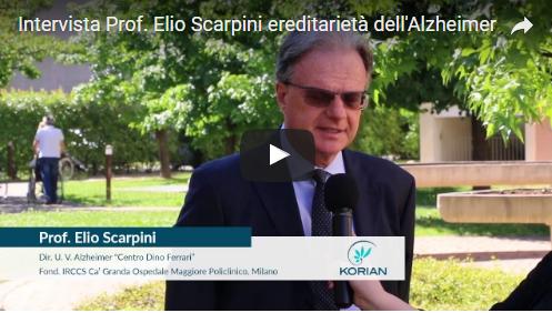 """(Italiano) Korian intervista Prof. Elio Scarpini su """"ereditarietà dell'Alzheimer"""""""